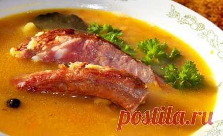 Суп из гороха: основные секреты приготовления