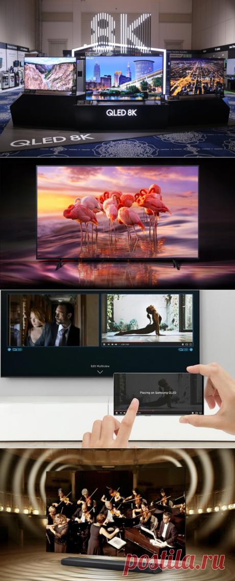 Телевизор будущего. Искусственный интеллект и управление домом. Samsung Qled 8k   Золото канал   Яндекс Дзен
