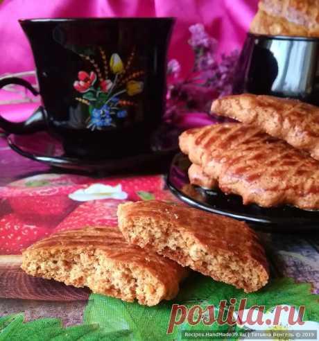 Быстрое медовое печенье – пошаговый кулинарный рецепт с фото