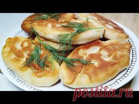 Ереванские Пирожки из детства. Жареные Пирожки с картошкой. Идеальное дрожжевое тесто на кефире. - YouTube