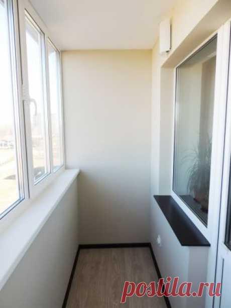 Que acabar las paredes en el balcón — Mi casa