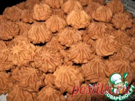 """Песочное печенье с какао """"Восторг"""" - кулинарный рецепт"""