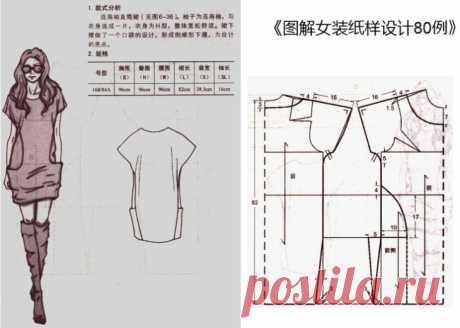 Две выкройки минималистичных платьев Модная одежда и дизайн интерьера своими руками