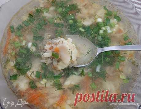 Быстрый суп из минтая. Ингредиенты: минтай филе, булгур, лук репчатый