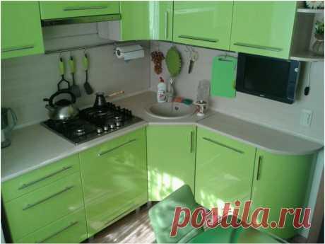 Идеи дизайна кухни в хрущевке (44 фото) | Дизайн кухни, интерьер, ремонт, фото