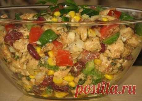 Как приготовить салат без майонеза ...пальчики оближешь - рецепт, ингредиенты и фотографии
