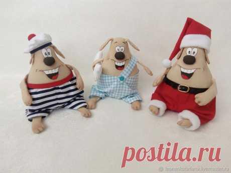 Веселые собачки от Татьяны Леоненко.