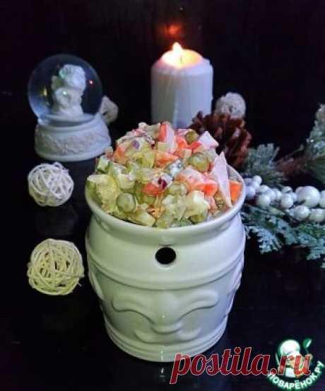 Салат «Новогодняя сказка» – кулинарный рецепт