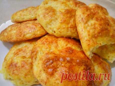 Вкусные творожные булочки без дрожжей