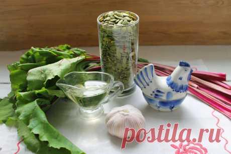 Паштет из свекольной ботвы с тыквенными семечками: рецепт с фото пошагово