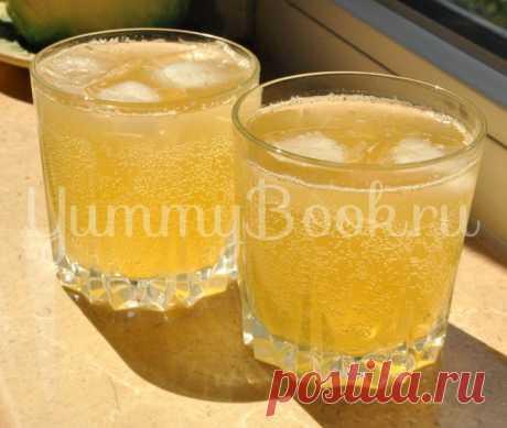 Имбирный лимонад с медом | Любимые рецепты