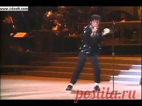 ▶ Майкл Джексон - Билли джин 1983 первая лунная походка - YouTube