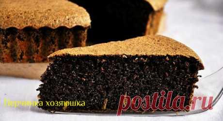 Торт маковка без единого грамма муки - Перчинка хозяюшка