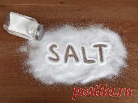 (+1) тема - 6 способов нетрадиционного использования кухонной соли | Полезные советы
