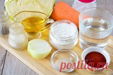 Пирожки с капустой без яиц: рецепт с фото пошагово