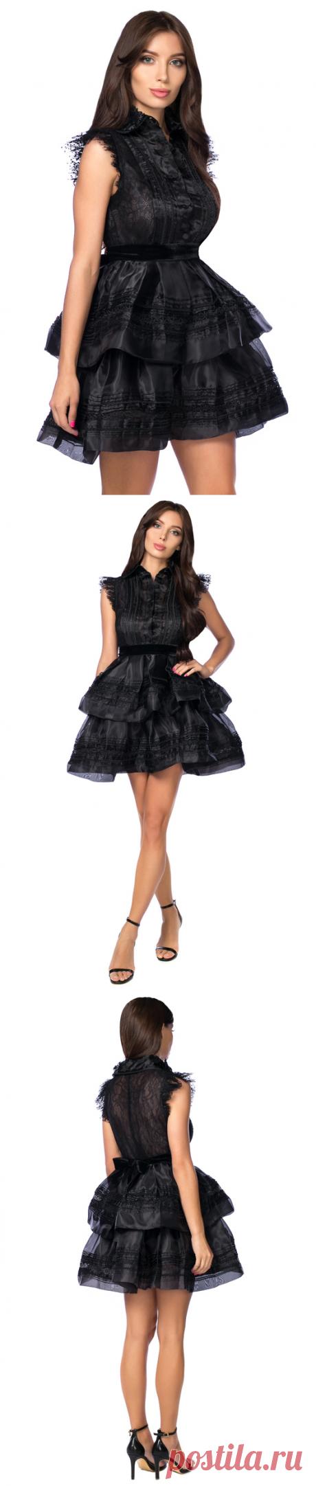 712d0ef24f8 Комбинированное платье в викторианском стиле S.P.Y. 110868
