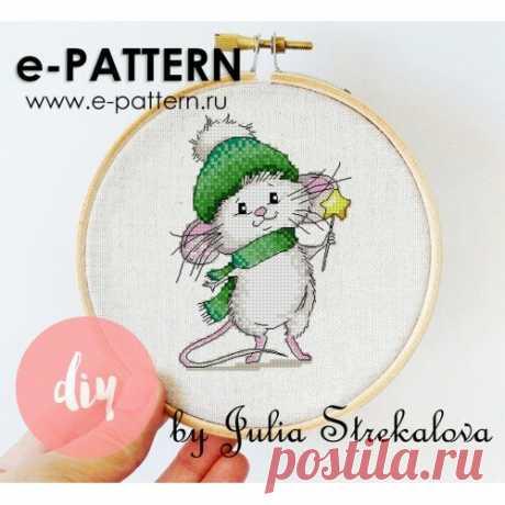 Подборка Новогодних бесплатных схем для вышивки | e-pattern.ru | Яндекс Дзен