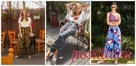 Летние, удобные, твои: 23 выкройки брюк, в которых по-настоящему комфортно — BurdaStyle.ru