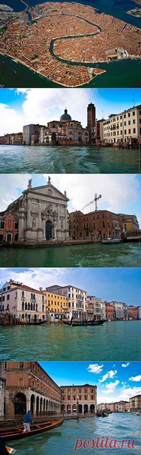 Гранд-канал, Венеция, Италия