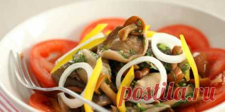 (+1) Салат из маринованных грибов с овощами : Салаты : Кулинария : Subscribe.Ru