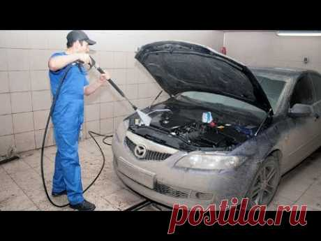 Нужно ли мыть двигатель?