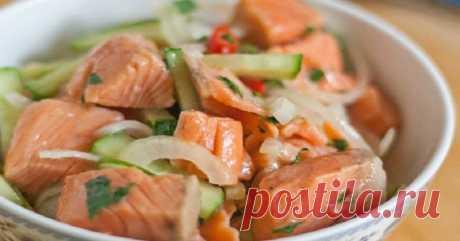 Горбуша с морковью по-корейски | Рекомендательная система Пульс Mail.ru
