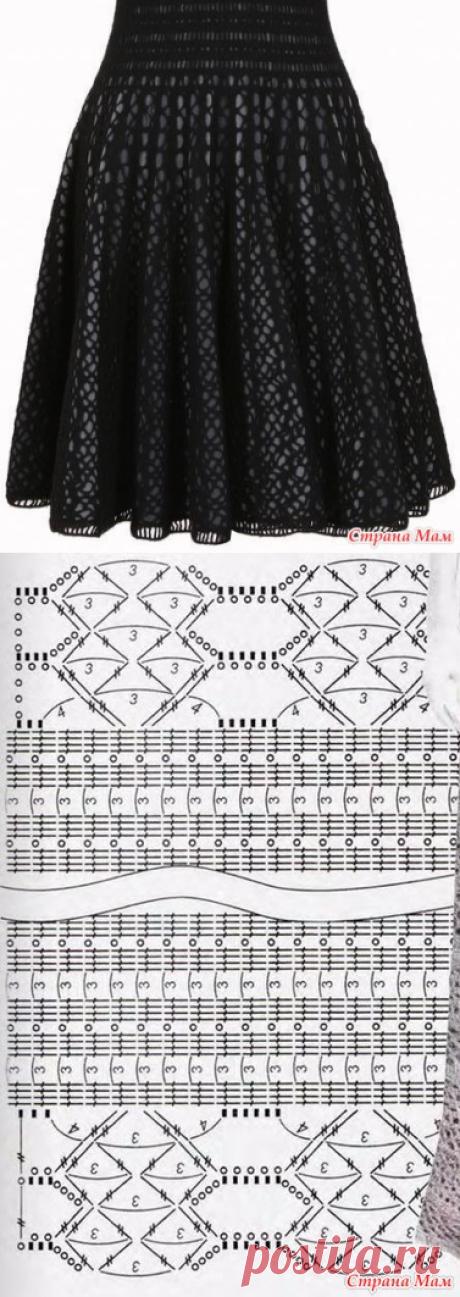 Интересное платье - Вязание - Страна Мам