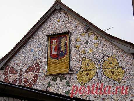 Мозаика для украшения дачи и дачного участка — 6 соток