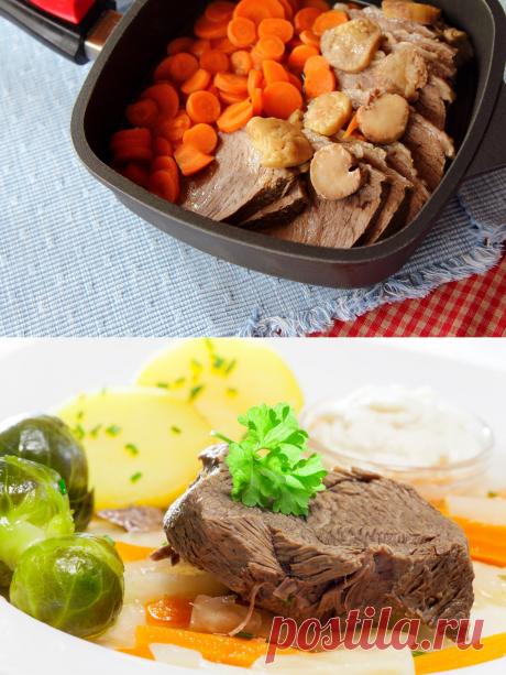 Тафельшпиц: традиционное венское блюдо, которое можно приготовить дома