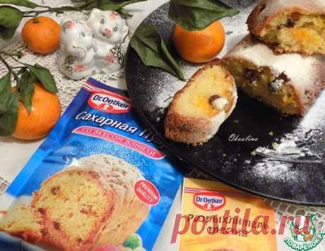 """Кекс """"Рождественский мандарин"""" – кулинарный рецепт"""