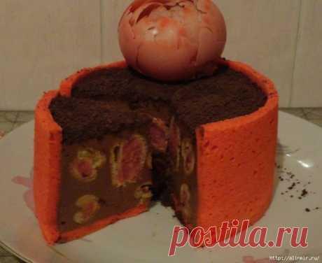 ¡La torta profitrolevyy Cojonudo!