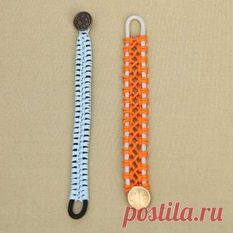 Простой плетеный браслет — Сделай сам