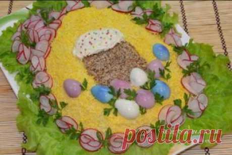 Рецепти салатів на Великдень