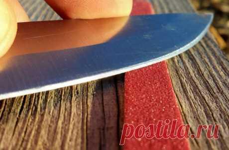 Как самостоятельно заточить кухонные ножи до бритвенной остроты | Colors.life