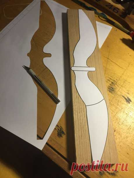 Modern Recurve Bow From Skis!: 12 Steps (with Pictures)