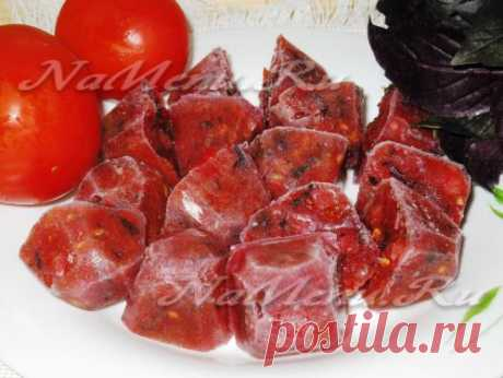 Como congelar los tomates para el invierno