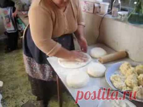 Грузинский домашный хачапури - Georgian Home hachapuri