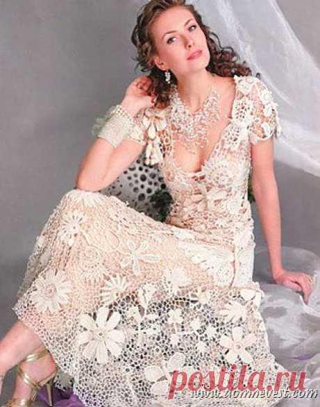 Винтажное свадебное платье своими руками | Дом невест