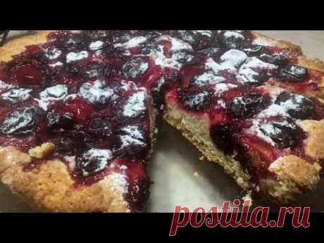 Вкуснейший пирог со сливами. Рецепт - YouTube