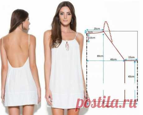 5 простых выкроек платьев для жары / Простые выкройки / ВТОРАЯ УЛИЦА - Выкройки, мода и современное рукоделие и DIY