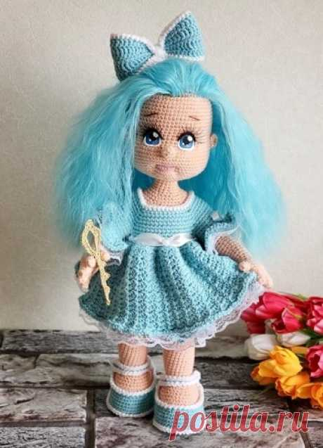 Куколки. Вязаная жизнь.  игрушки. Кукла Мальвина. Вязаная игрушка крючком. #мальвина #кукламальвина #Вязанаяигрушкакрючком. #Вязанаякуклакрючком. #кукла. #куколка. #вязание. #вязанаякуколка. #вязанаяжизнь. #вязанаямальвина.  #амигурумикукла. #амигурумикуколка. #мастерклассповязаниюкрючком #ВЖ_хвастики #ВЖ_крючок #ВЖ_куколки