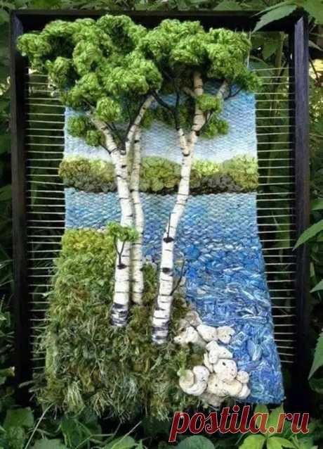 Удивительные 3D гобелены Мартины Селерин - Сделай сам - медиаплатформа МирТесен