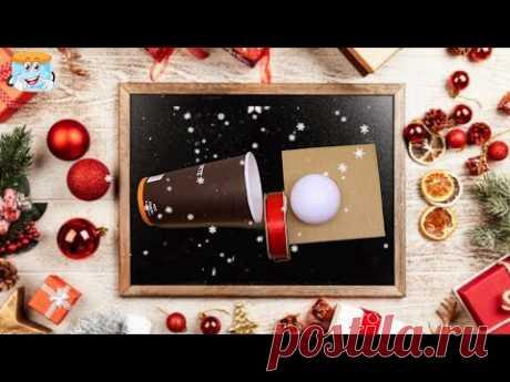 Отличная идея для новогоднего подарка Пингвин своими руками