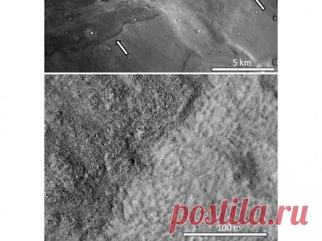 Астрономы нашли следы океанических цунами на Марсе | РИА Новости