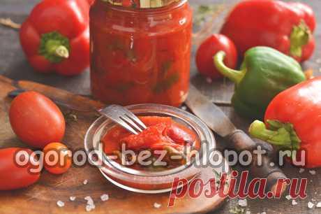 Перец в томате на зиму: рецепт сладкий, самый вкусный