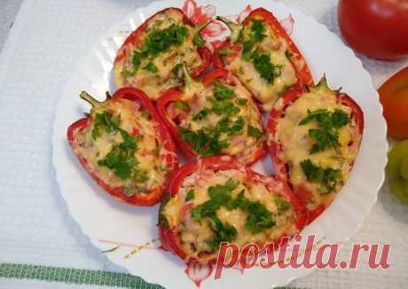 Фаршированный перец запечённый в духовке - пошаговый рецепт с фото. Автор рецепта Светлана Миронова . - Cookpad