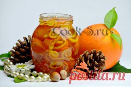 """Jam from orange crusts of \""""Curl\"""""""