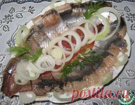 Сельдь пряная домашнего посола – кулинарный рецепт