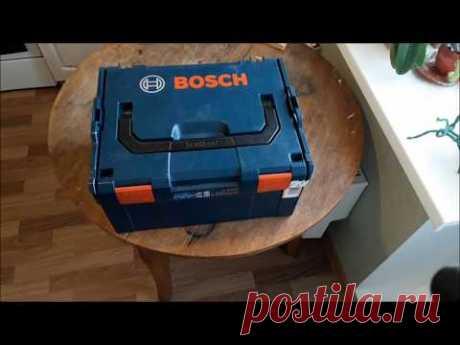 Тайна синего чемоданчика BOSCH, сабельная пилка BOSCH GSA 10,8 Li, и плюшки к инструментам. - YouTube