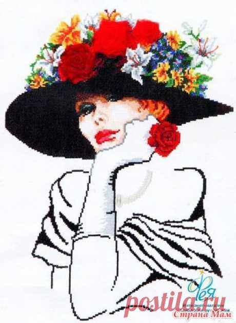 дамы в шляпах | Записи в рубрике дамы в шляпах | Дневник стежочек